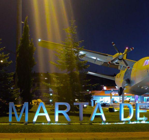 Rotonda base aérea de Matacán
