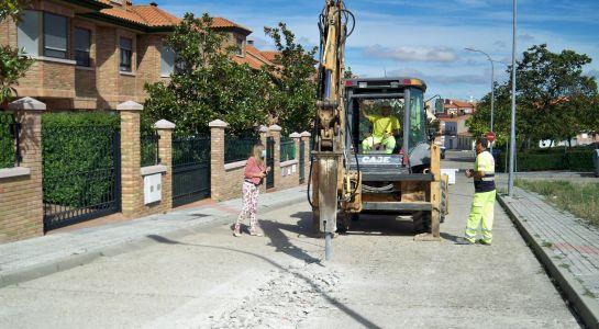 Arrancan las obras de renovación de la red de abastecimiento en la calle Zurbarán