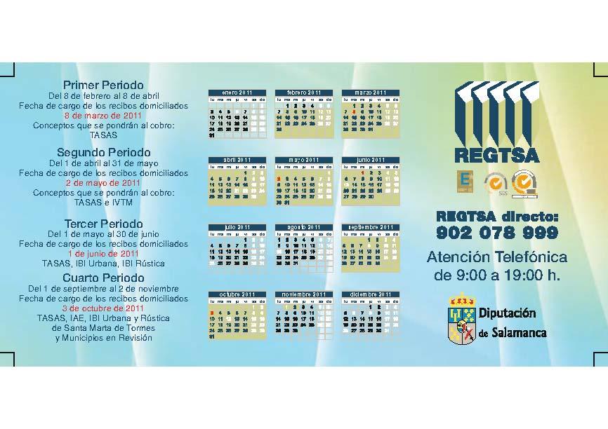 Calendario del contribuyente for Oficina del contribuyente