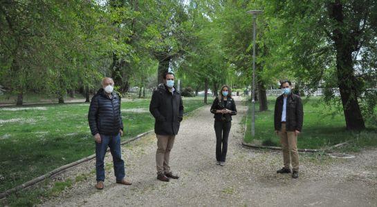 El Ayuntamiento adecuará los Caminos del parque de Valdelagua