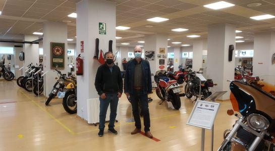 Cambio de iluminación en el Museo de la Moto