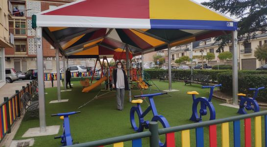 El parque de Virgen del Carmen estrena nueva carpa