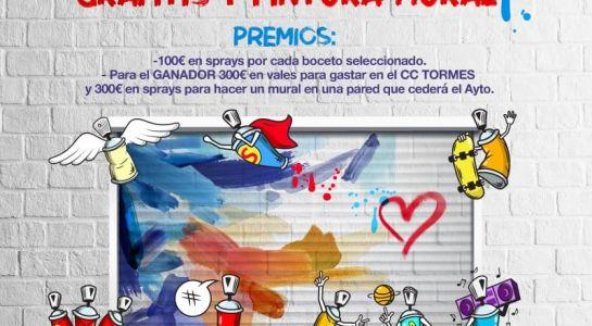 Se amplia hasta finales de octubre el plazo para participar en el I Concurso de Grafitis y Pintura Mural 'Santam'ARTE'