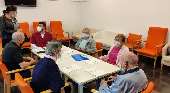 La Asociación de Parkinson retoma las terapias tres días a la semana en el edificio sociocultural