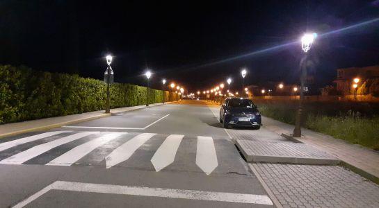 Comienza el cambio de las primeras luminarias en Aldebarán