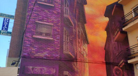 El Ayuntamiento instala nueva iluminación en los murales