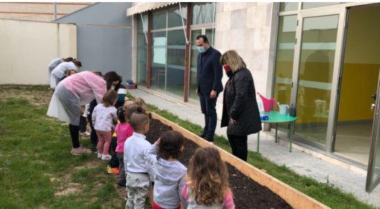 Nuevos huertos de la Escuela Infantil Municipal