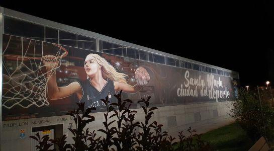 Nueva iluminación nocturna en cuatro murales más de Santa Marta
