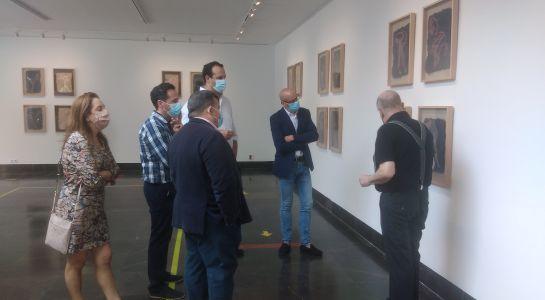 """La Sala Tragaluz se transforma en """"El Bosque de Euclídes"""" gracias a la obra de José Fuentes"""