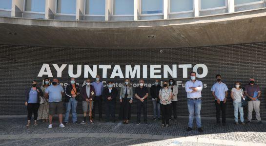 Minuto de silencio en el  XXIV aniversario del asesinato de Miguel Ángel Blanco