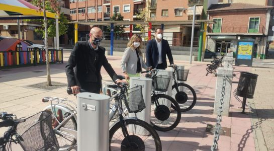 "Nueva base de ""SALenBICI"" en la avenida Madrid"
